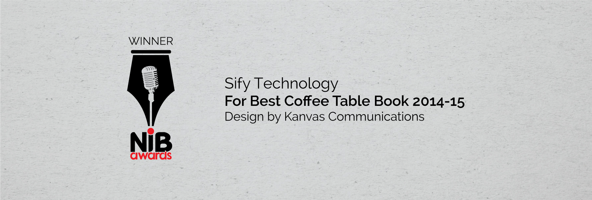 Award Winning Coffee Table Book Designed For Sify Technologies