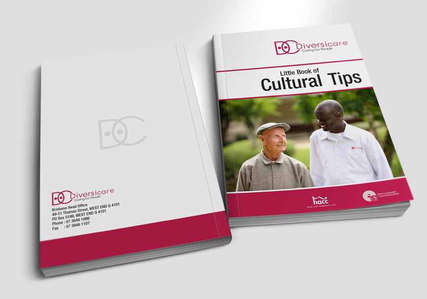 DIVERSICARE - Cultural tips books design for international client