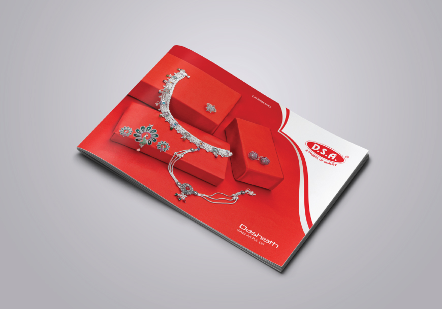DASHRATH SILVER ART - brochure for Silver jewellery designers and manufacturers